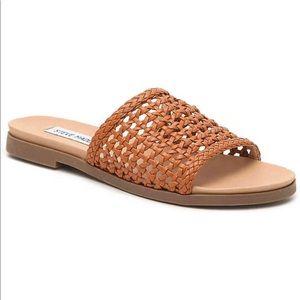 STEVE MADDEN kathryn's cognac (brown) sandals